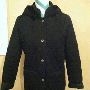 Espirt Quilted Coat with hood-excellent condition